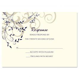 PostScript Press Wedding 121435 121387 Response Card