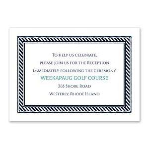Carlson Craft Themes & Dreams 129138 129117 Reception Card