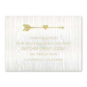 Carlson Craft Themes & Dreams 129144 129119 Reception Card
