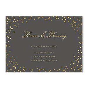 Bonnie Marcus Wedding 127398 127367 Reception Card