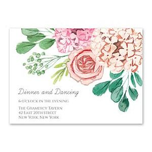 Bonnie Marcus Wedding 127419 127382 Reception Card
