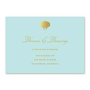 Bonnie Marcus Wedding 127423 127385 Reception Card