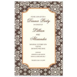 Dazzle Fall Invitation