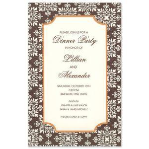 Dazzle Fall Invitation