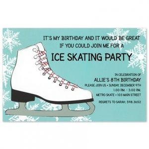 Sweet Skate Invitation