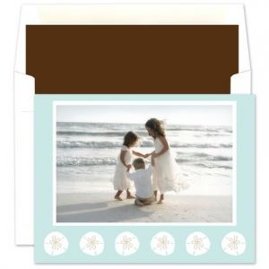 Beach Digital Photo Card