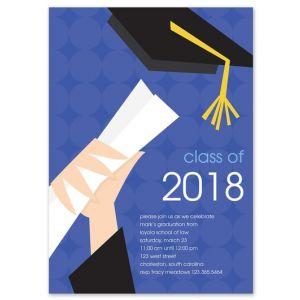 Diploma Delight Invitation