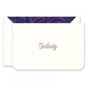 Rounded Corner Note Card