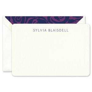 Rounded Corner Flat Card
