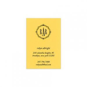 Lemon Drop Calling Card