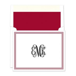 Grand Border Note Card