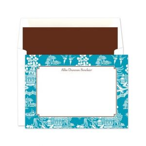 Chinoiserie Flat Card