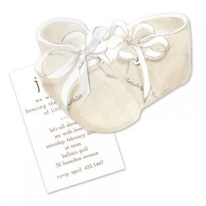 Baby Booties Invitation