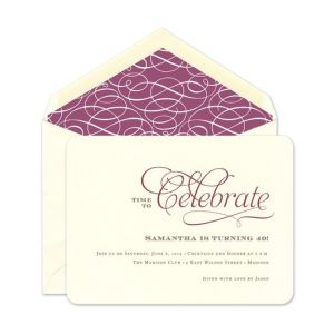 business party invitations corporate fine stationery
