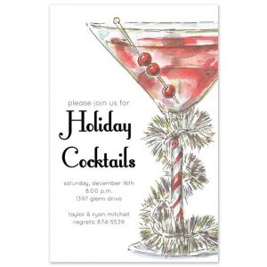 Tinsel Cocktail Invitation
