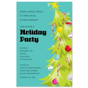 Jingle Tree Invitation