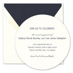 Indigo Fern Invitation