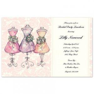 Mannequin Maids Invitation