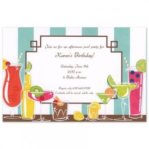 Drinks Galore Invitation