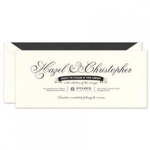 Vintage Oyster Invitation