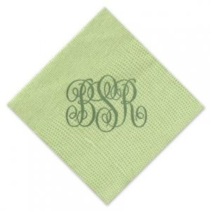 Lime Lizard Cocktail Napkin