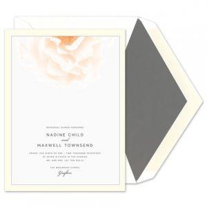 Rose Invitation