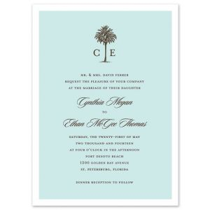 Romantic Getaway Invitation
