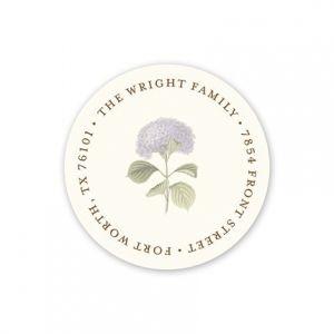 Hydrangea Address Label