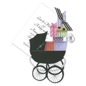 Baby Buggy Invitation