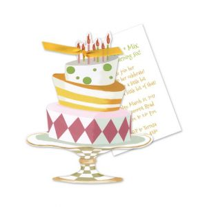 Whimsical Cake Invitation