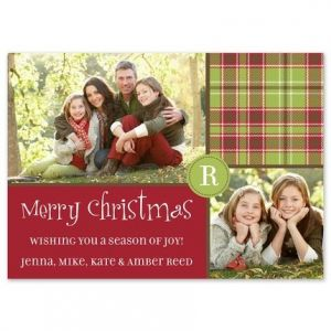 Christmas Lunch Photo Card