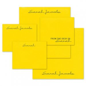 Yellow Mini-Me Note Pad Set