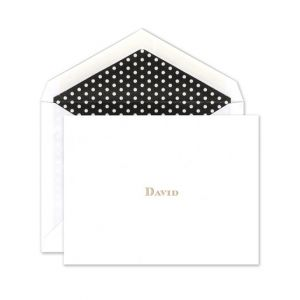 Polka Dot Note Card