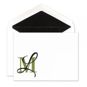 Clover Overlap Flat Card