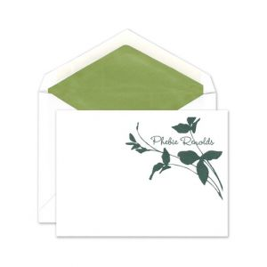 Botanical Flat Card