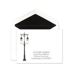 Lamp Post Announcement