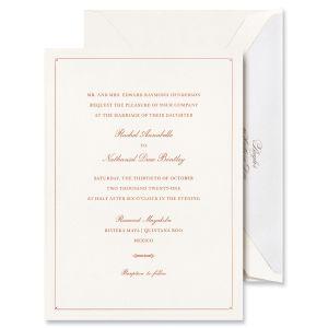 Romance Invitation