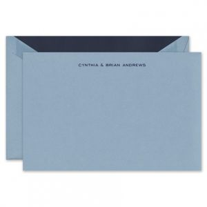 Dalton Blue Flat Card