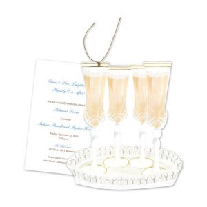 Champagne Glass Invitation