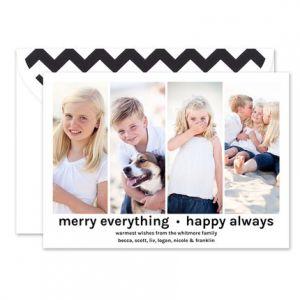 Bold Blocks Photo Card