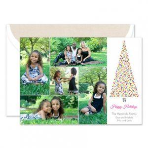 Holiday Confetti Photo Card