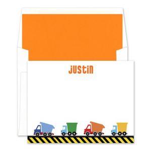 Dump Truck Flat Card
