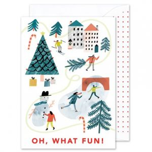 Oh, What Fun Greeting Card