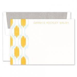 Ikat Flat Card