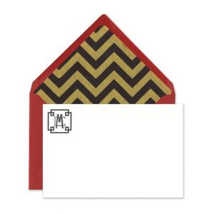 Art Deco Flat Card