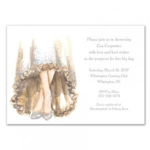 Bridal Shoes Invitation
