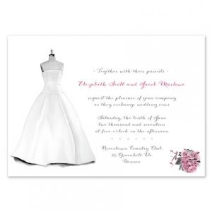 Dress Form Invitation