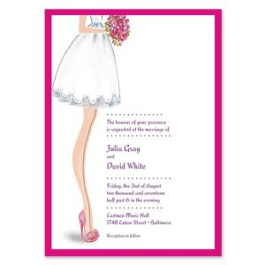Sassy Bride Invitation