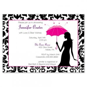 Umbrella Love Invitation