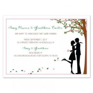 Pink Petals Invitation